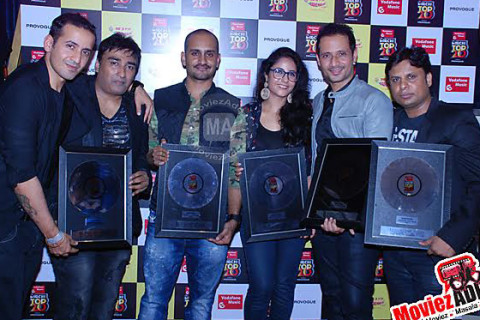 Platinum Disc Award for Best Choreography at Mirchi Top 20